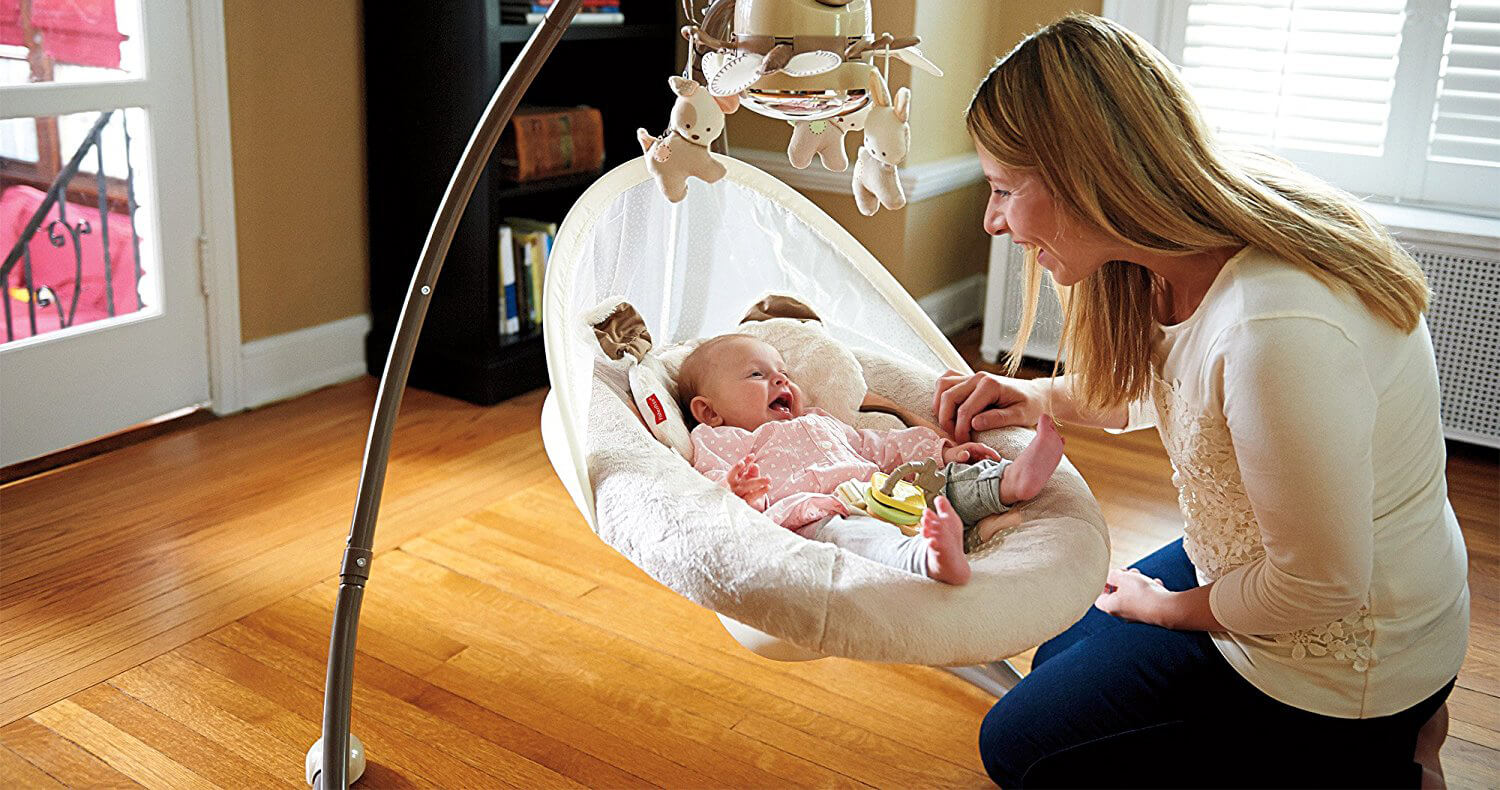 6 Best Rated Baby Swings for Infants
