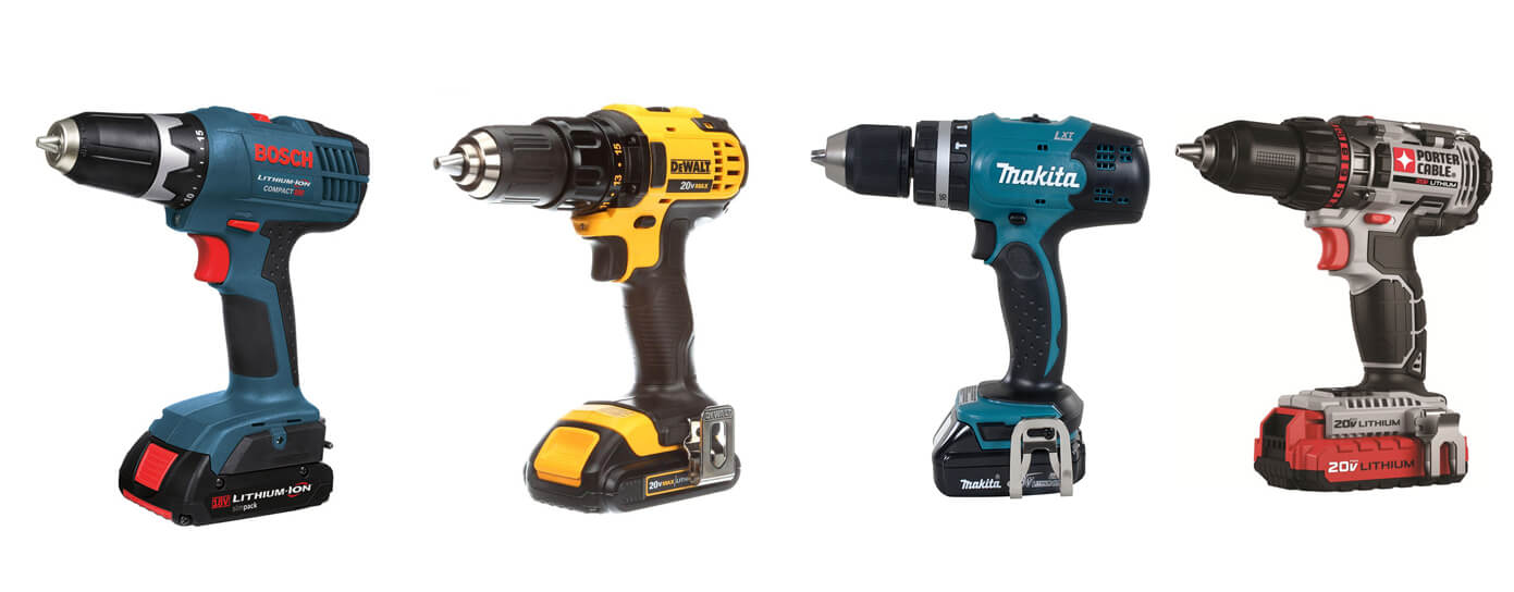 best cordless drills for home use